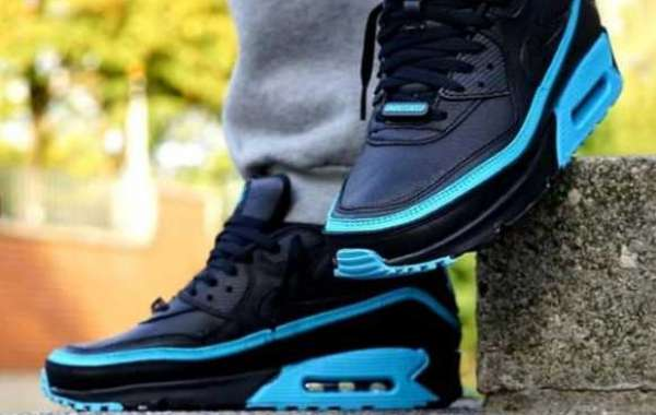 New UNDEFEATED x Nike Air Max 90 Black Blue Release Soon