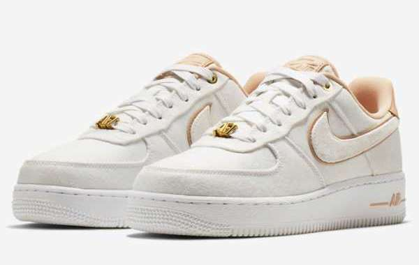 "Nike Air Force 1 Low Lux ""Basketball Print"" 898889-102"