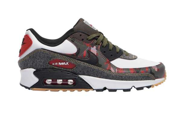 Hot Selling Nike Air Max 90 Camo Denim